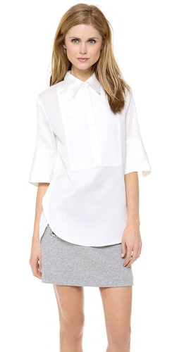 3.1 Phillip Lim Exaggerated Cuff Tuxedo Shirt at Shopbop / East Dane