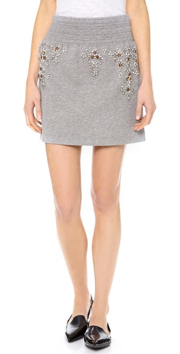 3.1 Phillip Lim Embellished Boxing Skirt at Shopbop / East Dane
