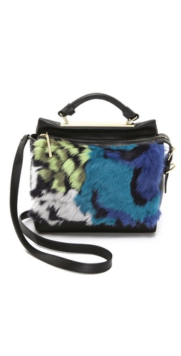 3.1 Phillip Lim Small Ryder Satchel with Fur at Shopbop / East Dane