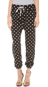 3.1 Phillip Lim Polka Dot Sweatpants