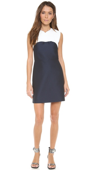 3.1 Phillip Lim Tank Dress with Arabesque Neckline