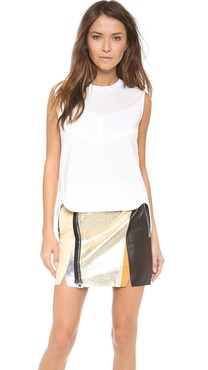 3.1 Phillip Lim Sleeveless Scultped Tank