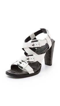 3.1 Phillip Lim Ada Strappy Buckle Sandals