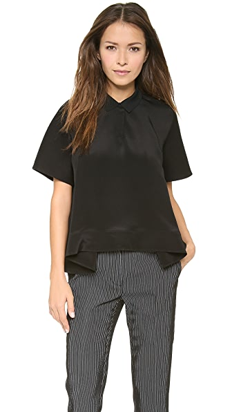 3.1 Phillip Lim Trapeze Polo Shirt