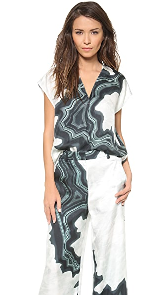 3.1 Phillip Lim Geode V Neck Tunic