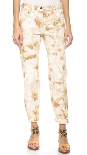 3.1 Phillip Lim Splattered Grunge Jeans