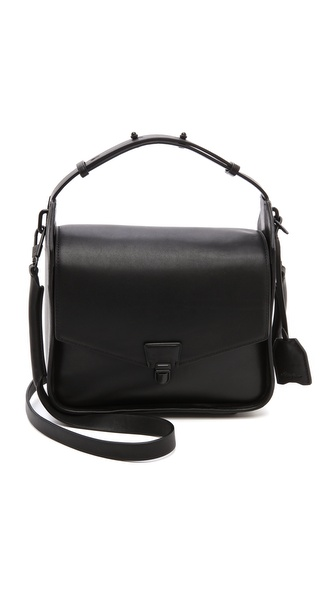 3.1 Phillip Lim Wednesday Flap Shoulder Bag - Black at Shopbop / East Dane