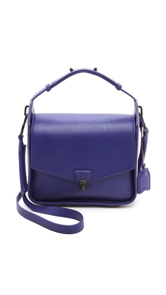 3.1 Phillip Lim Wednesday Flap Shoulder Bag - Ultramarine at Shopbop / East Dane