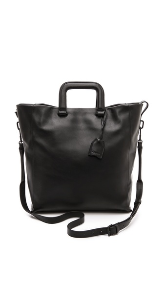 3.1 Phillip Lim Wednesday Trapezoid Tote - Black at Shopbop / East Dane