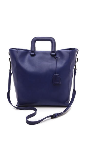 3.1 Phillip Lim Wednesday Trapezoid Tote - Ultramarine at Shopbop / East Dane