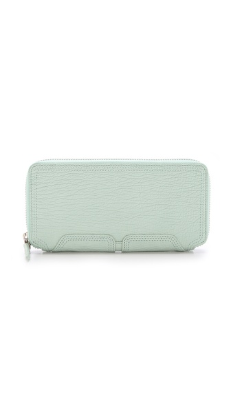 3.1 Phillip Lim Pashli Zip Around Wallet - Sage at Shopbop / East Dane