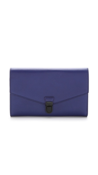 3.1 Phillip Lim Wednesday Trifold Wallet - Ultramarine at Shopbop / East Dane