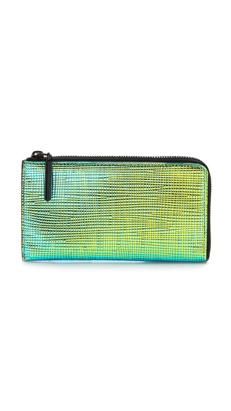3.1 Phillip Lim 31 Small Zip Pouch - Blue-Green at Shopbop / East Dane