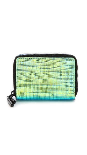 3.1 Phillip Lim 31 Double Compartment Wallet - Blue-Green at Shopbop / East Dane