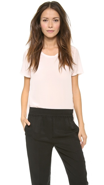 3.1 Phillip Lim Side Seam Tee Shirt - Petal at Shopbop / East Dane