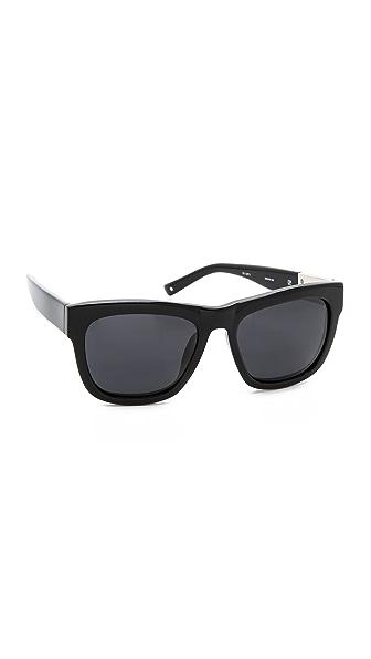 3.1 Phillip Lim Polarized Classic Sunglasses