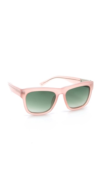 3.1 Phillip Lim Classic Sunglasses - Salmon at Shopbop / East Dane