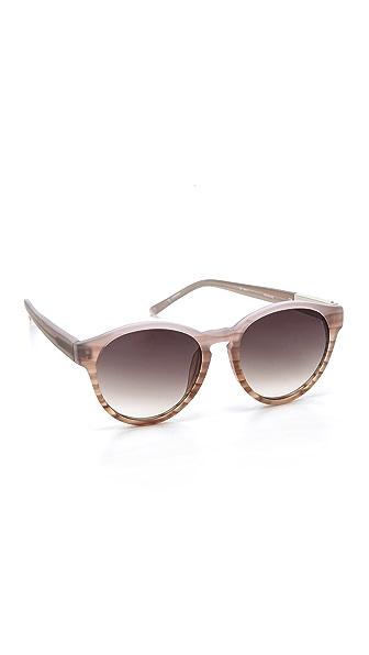 3.1 Phillip Lim Round Sunglasses