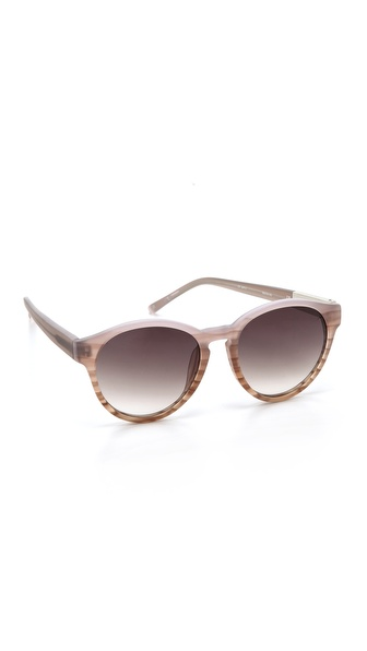 3.1 Phillip Lim Round Sunglasses - Sandstorm at Shopbop / East Dane
