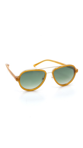 3.1 Phillip Lim Aviator Sunglasses - Toffee at Shopbop / East Dane