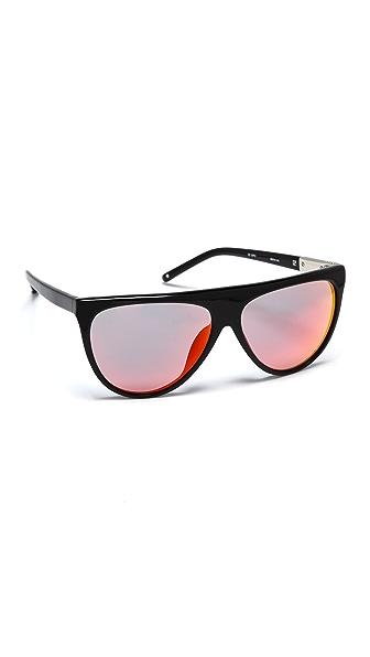 3.1 Phillip Lim Flat Top Sunglasses