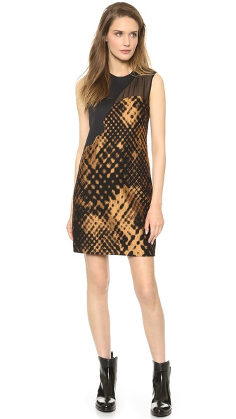 3.1 Phillip Lim Disintegrating Patchwork Sleeveless Dress