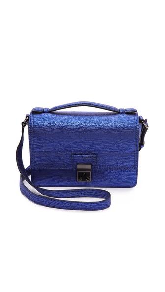 3.1 Phillip Lim Pashli Mini Messenger - Electric Blue