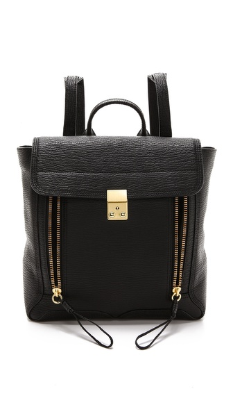 3.1 Phillip Lim Pashli Backpack - Black at Shopbop / East Dane