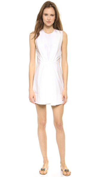 3.1 Phillip Lim Pintuck Dress With Silk Insets - White at Shopbop / East Dane
