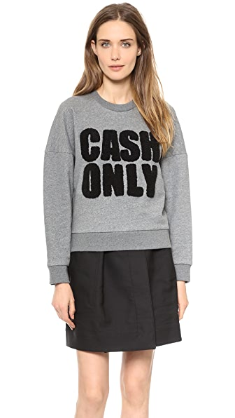 3.1 Phillip Lim Cash Only Sweatshirt