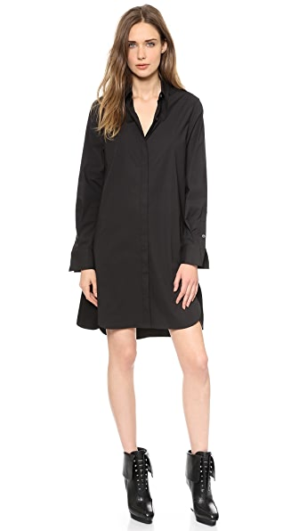 3.1 Phillip Lim Basketweave Poplin Dress