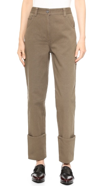 3.1 Phillip Lim Cuffed Leg Jeans