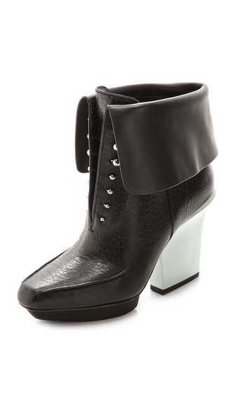 3.1 Phillip Lim Juno Fold Over Pull On Booties
