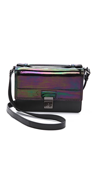 3.1 Phillip Lim Holographic Pashli Mini Messenger Bag