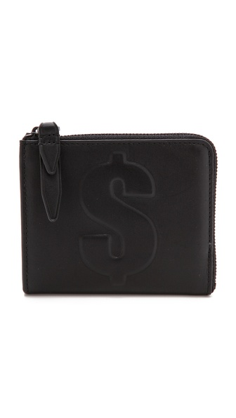 3.1 Phillip Lim Dollar Mini Zip Around Wallet