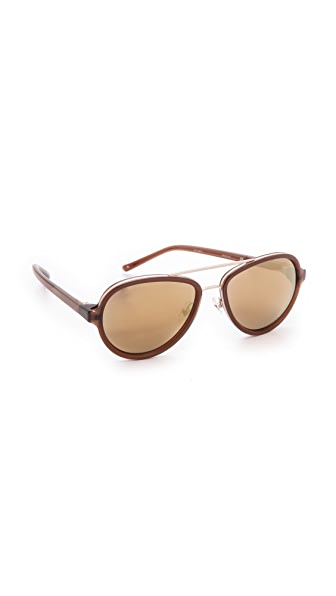 3.1 Phillip Lim Aviator Sunglasses