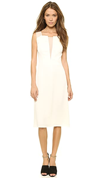 3.1 Phillip Lim Chiffon Bodice Dress - Ivory