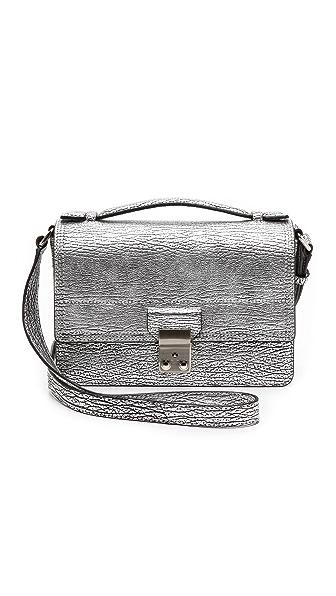 Mini Mini Pashli Mini Messenger Bag (Silver)