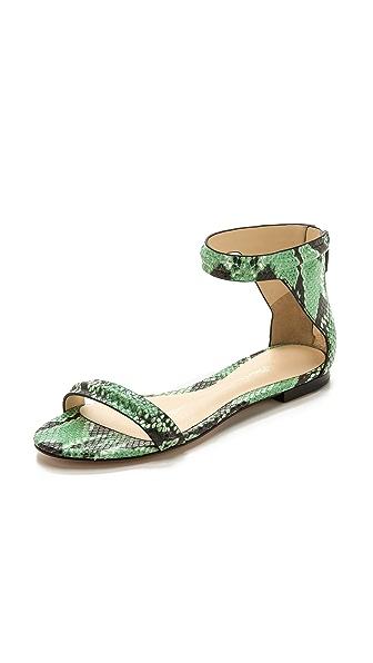 3.1 Phillip Lim Martini Flat Sandals - Celadon