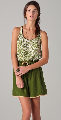 Piamita Erin Scoop Neck Tank