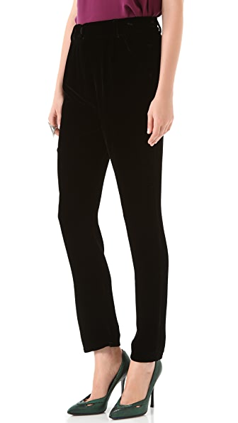 Piamita Charlotte Velvet Pants