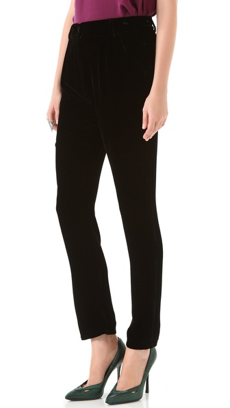 Piamita Charlotte Velvet Pants