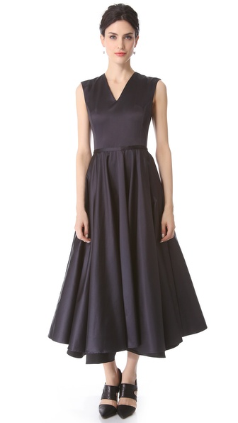 Pierre Balmain V Neck Dress