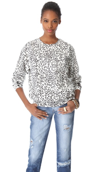 Pierre Balmain Cheetah Sweatshirt