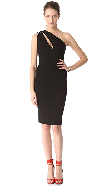 Pierre Balmain One Shoulder Dress