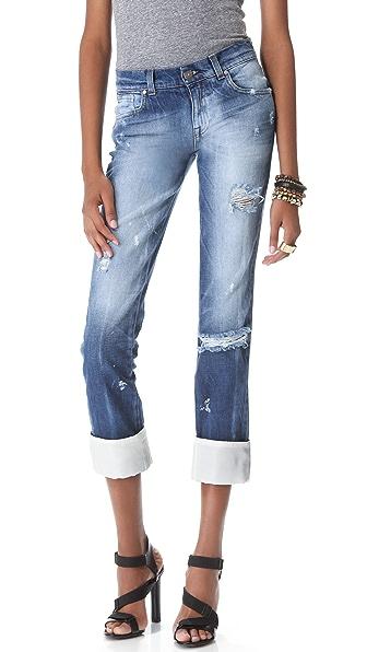 Pierre Balmain Cuffed Jeans