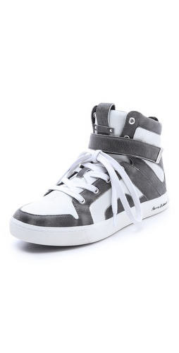 Pierre Balmain Austin High Top Sneakers at Shopbop.com