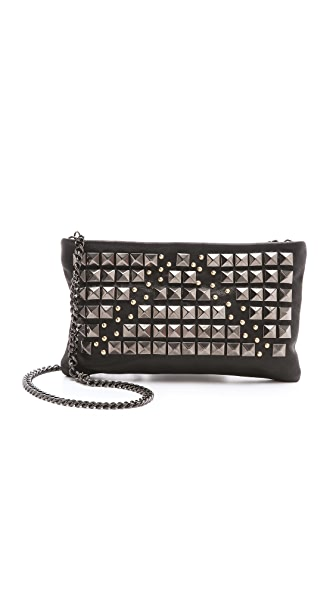 Pierre Balmain All Over Studded Clutch
