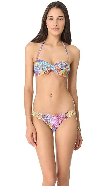PilyQ Tibet Bandeau Bikini Top