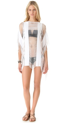 PilyQ Spa White Monique Cover Up